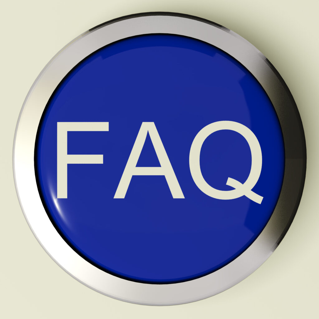 Faq: Frequently Asked Questions Button Or FAQ Icon